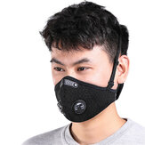 Motor Windproof Cycling Face Mask dengan Dust Filter Anti Pollution Dustproof