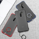 Bakeey for Xiaomi Redmi 9 Case Frameless Ultra Thin Matte with Finger Ring Hard PC Protective Case Back Cover Non-original