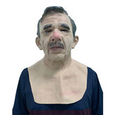 Halloween Party Horror Mask Spoof Mask Old Man Mask Party Verbal Decoration Performance Props