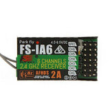 FlySky FS-iA6 2.4G 6CH AFHDS Receptor para FS-i10 FS-i6 Transmisor