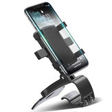 FONKEN Dashboard Car Phone Holder 180 Degree Mobile Smartphone Stands Rearview Mirror Sun Visor In Car GPS Navigation Bracket Under 7 inch Device for POCO X3 NFC