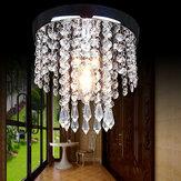 20 * 20 سم الممر غرفة نوم كريستال الثريا قلادة مصباح السقف ضوء ضوءing تركيبات