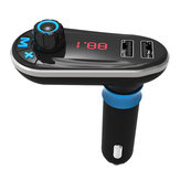 Bluetooth Car Kit MP3 Player Transmissor FM Dual USB Car Charger Controle Remoto