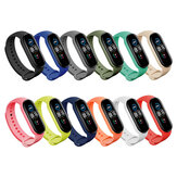 Bakeey Colorful Pure Color Silicone Watch Band Replacement Watch Strap for Xiaomi mi Band 5 Non-original