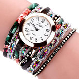 DUOYA D048 Retro Style Bracelet Watch