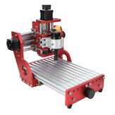Kırmızı 1419 3 Eksen Mini DIY CNC Router Standart Mil Motor Ahşap Oyma Oyma Makinesi Freze Oymacı Ağaç İşleme