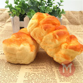 Squishy Toys 10 * 5cm Simuleer Toast Super Soft Reality Touch Handkussen Office Decor