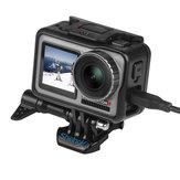 SheIngKa FLW309 Shell Quadro de Proteção Caso com Porta Indicadora de Microfone para DJI OSMO Action Sports Camera