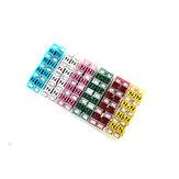 108stks20253040 50 60A amp auto standaard vrouwelijke cartridge zekering draad kabel voor toyota