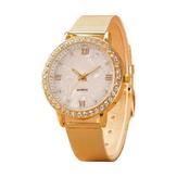 נשים קריסטל רומי מספר סגסוגת Band Watch
