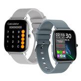 [Bluetooth-oproep] Bakeey GW22 1,6 inch groot volledig touchscreen Hartslag Bloeddruk O2-monitor Rekenmachine Waterdicht smartwatch