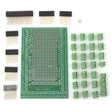 Double-side PCB Prototype Screw Terminal Block Shield Board Kit Mega2560 R3