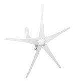 DC 12/24V 1250W Peak Wind Generator Wind Turbine Power Generator 3/5 Blades with Charge Controller