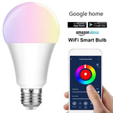 E27 E26 B22 RGBW Smart LED Glühbirne 7W WiFi IOS Android Amazon Alexa Google Lampe AC85-265V