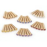1PC Debbie GXZ-6 Guitar Bridge Pins with Copper Brass Pearl Shell Dot String Nails Pin for Folk Acoustic Guitar