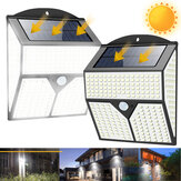1 / 2Pcs 436LED Solar Light Infrarood Bewegingssensor Tuinbeveiliging Wandlamp Nieuw