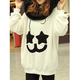 Fleece Cute Long Sleeve Hoodies Sweatshirts With Pockets