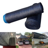 6/9/15m Black Sunblock Shade Cloth UV Resistant Fabric Tarp Barn Plant Cover