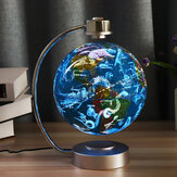 8 pollici levitazione magnetica fluttuante globo Constellation Light Desk lampada Decor Toy