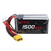 ALIENMODEL 14.8V 1500mAh 100C 4S Lipo Battery XT60 Plug for RC Aircraft Quapcopter Drone