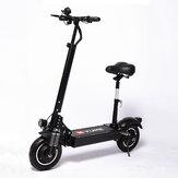 [EU DIRECT] YUME YM-D4 + 23.4Ah 52V 2000W Opvouwbare elektrische scooter met dubbele motor 65-75 km / u Topsnelheid 80 km Bereik Kilometerstand Dubbel olie-remsysteem Max. Belasting 200 kg EU-stekker
