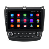 10.1 Inch 2 DIN for Android 8.1 Car Stereo 1+16G Quad Core MP5 Player GPS WIFI FM AM Radio for Honda Accord 2003-2007