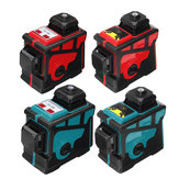 3D 12 Lines Green Blue Line Laser Level 360 ° Cross Auto Leveling Engineer com Red Blue Shell