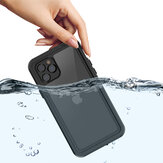 Bakeey Outdoor Swimming Surfing IP68 Waterproof Shockproof Full Body Cover Transparent Protective Case for iPhone 11 Pro 5.8 inch