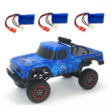 SG 1802 Several Battery RTR 1/18 2.4G 4WD RC Car Vehicles Model  Truck Off-Road Climbing Children Toys