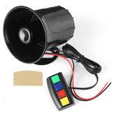 4 Sound Loud 110dB 30 Watt 12 V Alarm Feuer Horn Sirene Lautsprecher Für Auto Motorrad RV