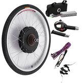 Bikight 48V 500W 26Inch Elektrikli Bisiklet Değiştirme Seti Sürüş Motor Arka Tekerlek Kontrol Cihazı Bisiklet Setleri