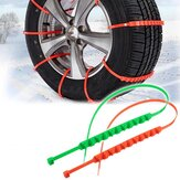 Car Snow Chain Universal Anti-Slip Rainproof Adjustable Snow Chains Car-Styling Outdoor Climbing
