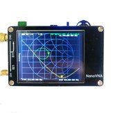 Analisador de rede vetorial NanoVNA original 50KHz - 900MHz Display digital Touch Screen Shortwave MF HF VHF UHF Antena Onda ereta do analisador