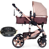 Fashion Baby Stroller Newborn Carriage Infant Travel Car Foldable Pram Pushchair