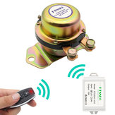 KTNNKG Car Batteria Switch Wireless remoto Controllo Disconnect Latching Relay Elettromagnetico Solenoide Valvola Terminal Master Kill System