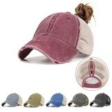 Ladies Summer Fashion Sports Ponytail Baseball Cap