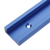 Bleu 100-1200mm T-slot T-track Mitre Track Jig Fixation Slot 30x12.8mm Pour Table Saw Router Table Woodworking Tool