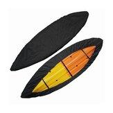 Copri kayak con cinghie inferiori regolabili UV Resistente scudo antipolvere nero per Hydra Creek