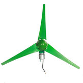12V / 24V 3 Schaufeln 800W Peak Green Horizontal Power Windturbinengenerator mit Laderegler