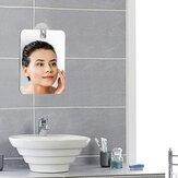 Espejos de ducha antiniebla Cuarto de baño Espejo sin niebla sin niebla Espejo de baño Viajes para hombre Espejo de afeitar 13 * 17cm