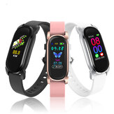 [SPO2 Monitor]Bakeey YD8 Body Temperature Heart Rate Blood Pressure Monitor GPS Running Track Camera Control IP68 bluetooth 5.0  Smart Watch