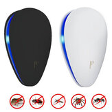 Loskii BR-04 2018 Enhanced Ultrasonic Plug-in LED Anti Mosquito Pest Insect Repeller