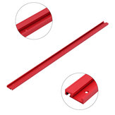 Machifit 1000mm Red Aluminum Alloy T-track Woodworking 45x12.8mm T-slot Miter Track