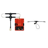 FrSky R9M 2019 900MHz Long Range Transmitter Module and R9 MM OTA ACCESS RC Receiver with Mounted Super 8 and T antenna