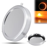 Silver 90-112mm Solar Filter Lens Baader Film Metal Cover For Astronomical Telescope