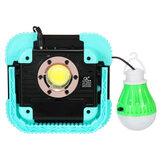 COB Солнечная Кемпинг Light USB аккумуляторная Водонепроницаемы Прожектор Work Work Лампа Прожектор для На открытом воздухе Hiking Travel Рыбалка Аварий