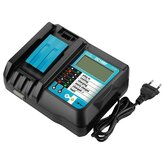 DC18RF 18V Replacement Battery Charger with LCD Display for Makita