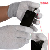 1 para ESD Safe Gloves Anti-static Anti Skid PU Finger Top powlekany do elektronarzędzi działa