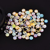 Dancingnail Mieszanie Pearl Shell Cololful Nail Decoration Bead