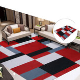 Mixed Colors Area Rugs Modern Carpet Polyester Carpet Rug for Home Living Room Bedroom Decor